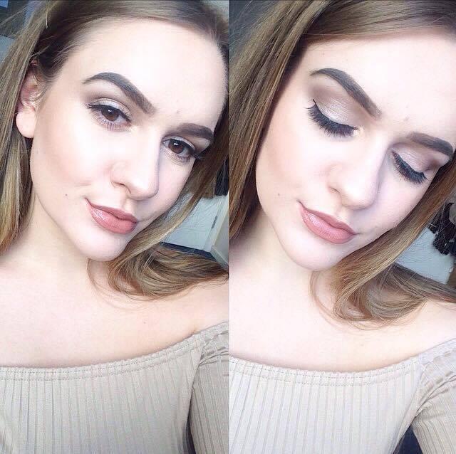 Makeup Look Using Nyx Beauty School Dropout Palette