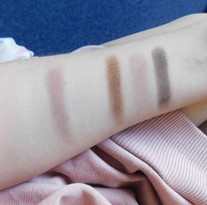 Maybelline the nudes row 1