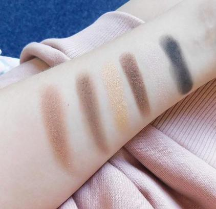 Maybelline the nudes row 2