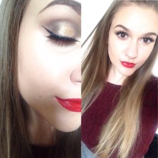 Xmas makeup