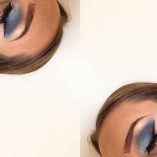 NYX Wind makeup look 1
