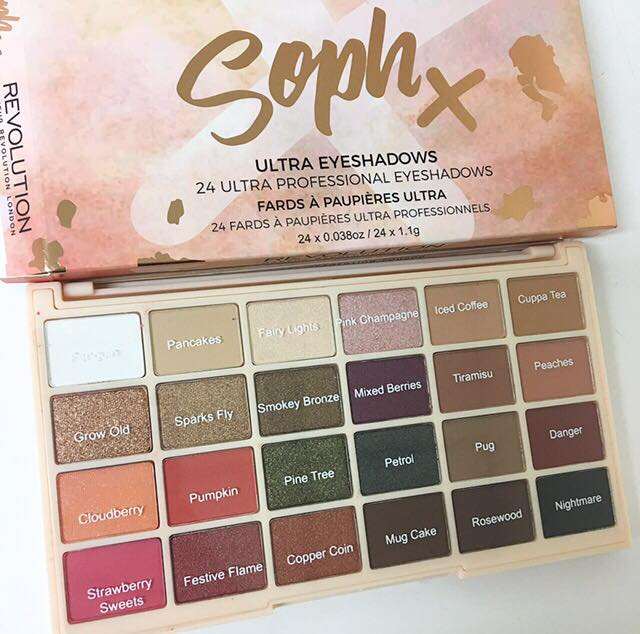Rose Gold Chocolate Bar Eyeshadow Palette by Revolution Beauty #17