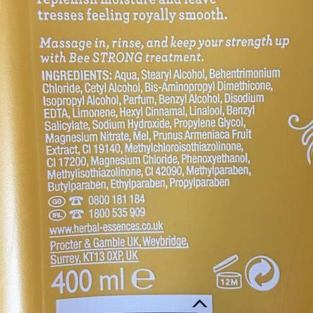 Herbal Essences conditioner