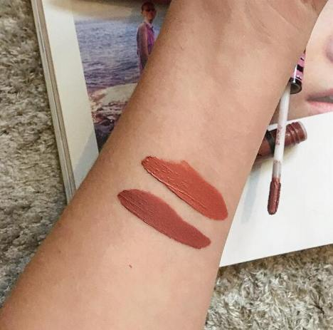 nyx sweet chateau swatches